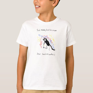 Sad Monkey Lost His Crayons T-Shirt