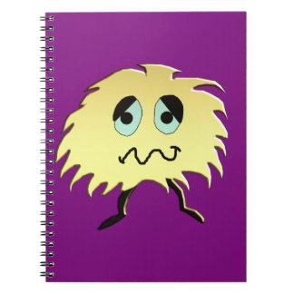 sad monster notebooks