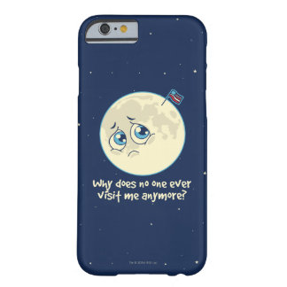 Sad Moon Barely There iPhone 6 Case