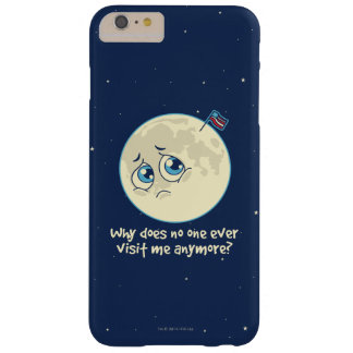 Sad Moon Barely There iPhone 6 Plus Case