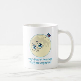 Sad Moon Coffee Mug