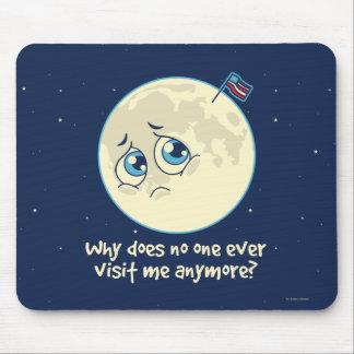 Sad Moon Mouse Pad