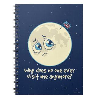 Sad Moon Notebooks