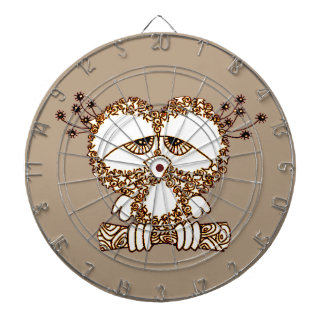 Sad Owl Dartboard