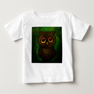 Sad owl eyes baby T-Shirt