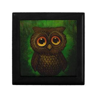 Sad owl eyes gift box