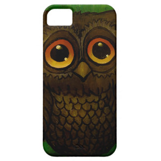 Sad owl eyes iPhone 5 case
