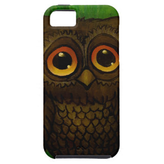 Sad owl eyes iPhone 5 cover