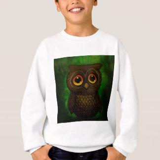 Sad owl eyes sweatshirt