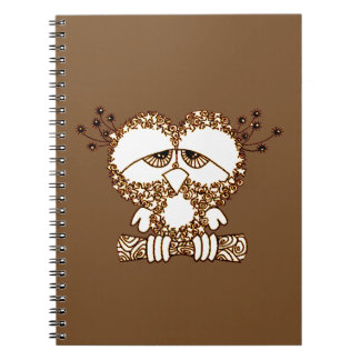 Sad Owl Notebook