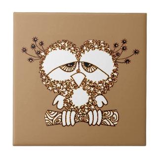 Sad Owl Tile
