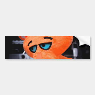 Sad panther bumper sticker