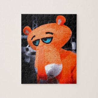 Sad panther jigsaw puzzle