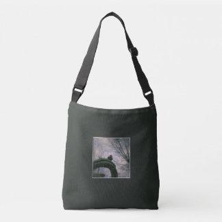 Sad pigeon crossbody bag