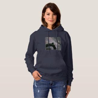Sad pigeon hoodie