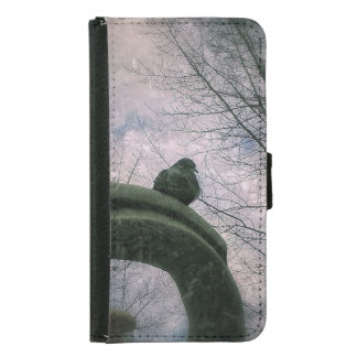 Sad pigeon samsung galaxy s5 wallet case