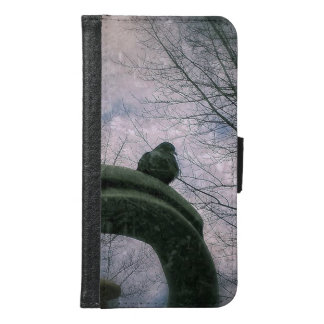 Sad pigeon samsung galaxy s6 wallet case