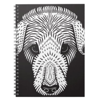 sad puppy notebooks