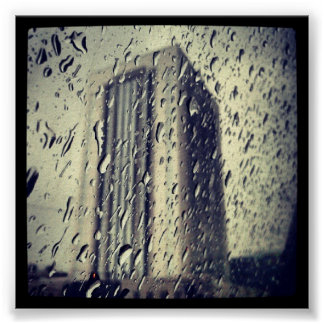 Sad Rainy Day Poster