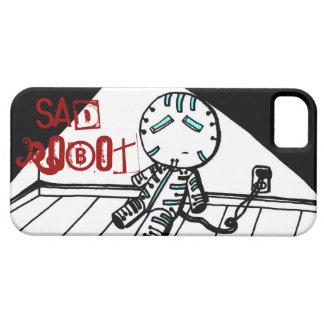 Sad Robot iPhone 5 Case