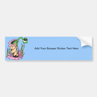 Sad Sea Creature Bumper Sticker
