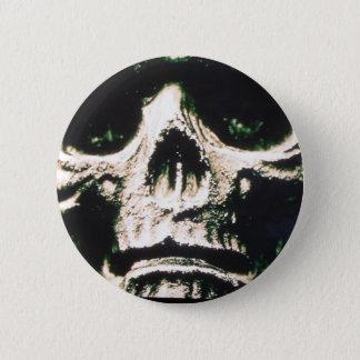 Sad Skull 2 Inch Round Button