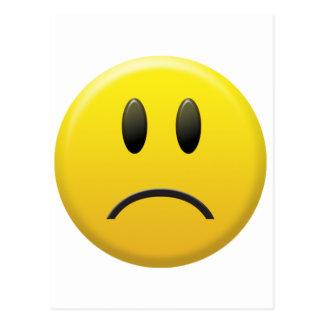 Sad Smiley Face Postcards