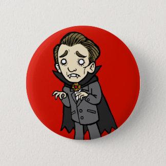 Sad Vampire 2 Inch Round Button