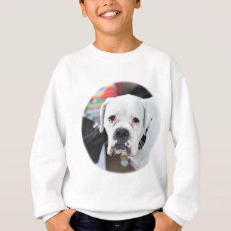 Sad White Boxer Sweatshirt