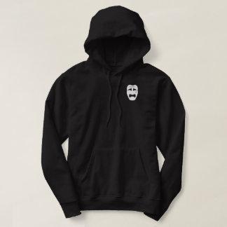 sadboys face black hoodie