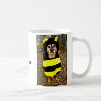 Saddest Bee mug (with White Trash Background!)