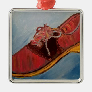 Saddle Shoe Metal Ornament