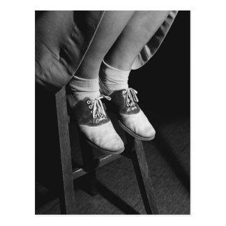 Saddle Shoes, 1934 Postcard