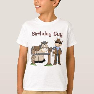 Saddle Up Birthday Shirt