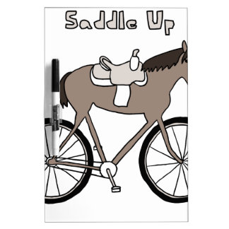 Saddle Up Dry-Erase Board