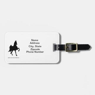 Saddlebred Address Tag