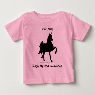 Saddlebred Horse Silhouette Tee Shirts