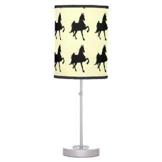 Saddlebred Horses On Parade Table Lamp