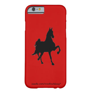 Saddlebred Silhouette Barely There iPhone 6 Case