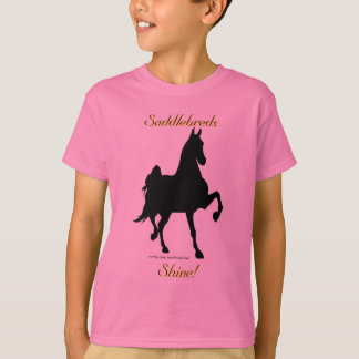 Saddlebreds Shine -- Kids Tee