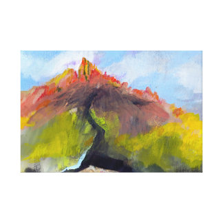 Saddlerock 1 canvas print