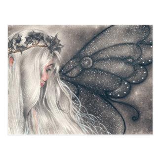 Sadeness gothic fairy Postcard
