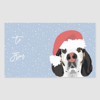 Sadie Holiday Gift Tags Stickers