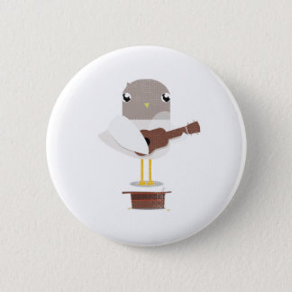 Sadie Seagull Big Beach Busk badge 2 Inch Round Button