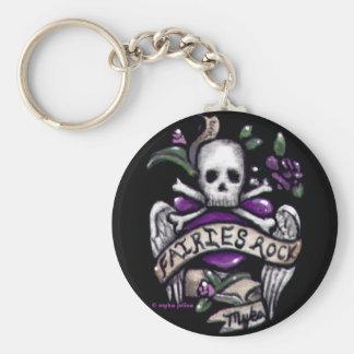 """""""Sadie"""" Skull Punk Keychain"""