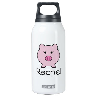 Sadie the Pink Pig Insulated Water Bottle