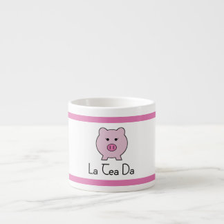 Sadie the Pink Pig | Tea Set Cup Espresso Mug