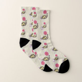 Sadie the Snail Socks 1