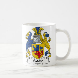 Sadler Family Crest Coffee Mug
