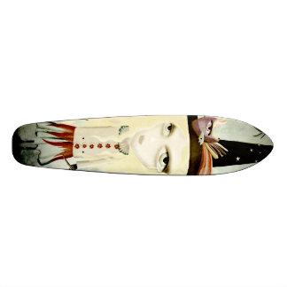 Sadness elegant gothic cry alone doll skateboard